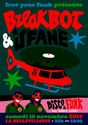 FREE YOUR FUNK : BREAKBOT & IRFANE
