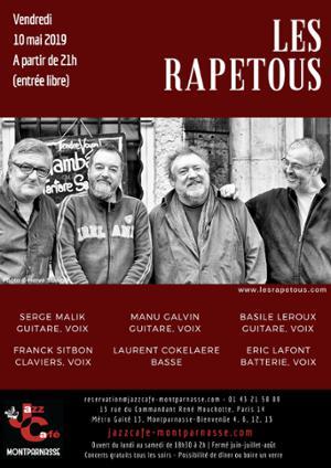 Les Rapetous 6tet au Jazz Café Montparnasse