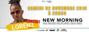 Lorenz au New Morning Paris