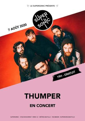 Thumper • Rooster Keaton / Supersonic (Free entrance)
