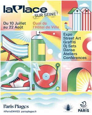 La Place Sur Seine | Paris Plage 2021