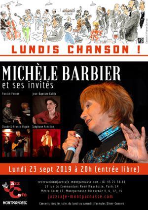 [REPORTÉ] Lundis Chanson ! Michèle Barbier et ses invités
