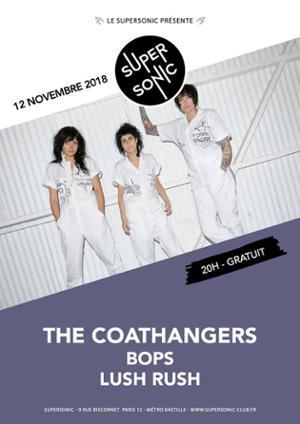 The Coathangers • Bops / Supersonic - Entrée gratuite