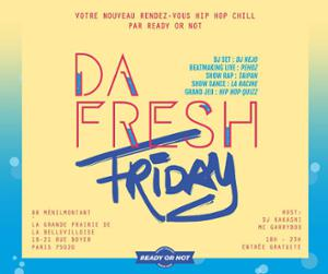 88 MENILMONTANT : DA FRESH FRIDAY #READYORNOT