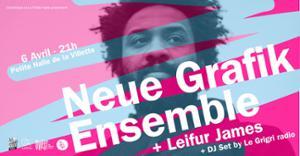 LJC #3 - Neue Grafik Ensemble + Leifur James