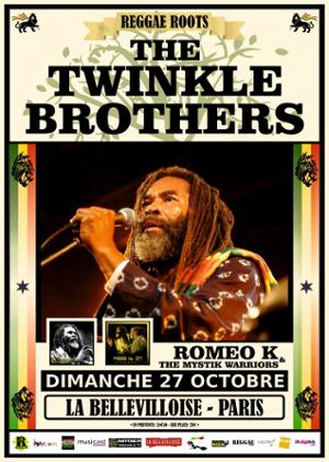 THE TWINKLE BROTHERS + ROMEO K & THE MYSTIK WARRIORS