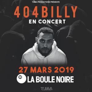 404Billy • La Boule Noire, Paris • 27 mars 2019