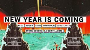 New Year Is Coming - CARE/MESS & friends à l'Inter