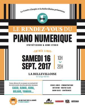LE RENDEZ-VOUS DU PIANO NUMERIQUE - 1ERE EDITION