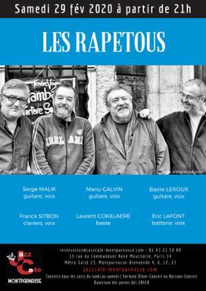 Les Rapetous au Jazz Café Montparnasse