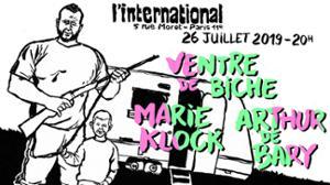Ventre de biche • Marie Klock • Arthur de Bary à L'International