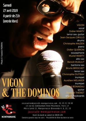 Vigon and the Dominos au Jazz Café Montparnasse