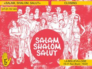 SALAM, SHALOM, SALUT DE RETOUR A PARIS