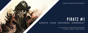PIRATz #1 /w Aldehyd, Ailem, Seeckbazz, Somersault