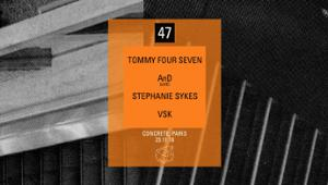 Concrete [47]: Tommy Four Seven, AnD Live, Stephanie Sykes, VSK
