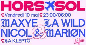 MAI 10 HORS-SOL — (Ré) Jouissances Printanières !