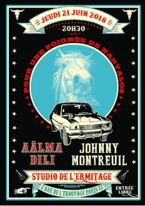 FÊTE DE LA MUSIQUE - AÄLMA DILI + JOHNNY MONTREUIL