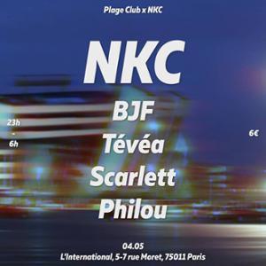 Plage Club x NKC