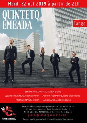 Quinteto Emeada au Jazz Café Montparnasse