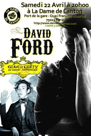 DAVID FORD + 1ère partie Gérald GENTY