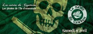Les soirées du Capitaine : Les pirates de l'île d'Emeraude