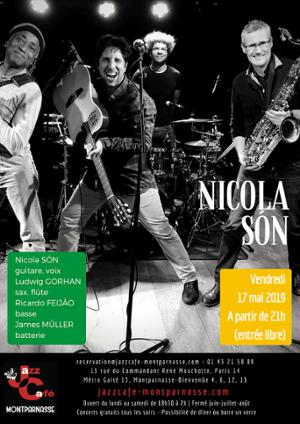 Nicola Són au Jazz Café Montparnasse
