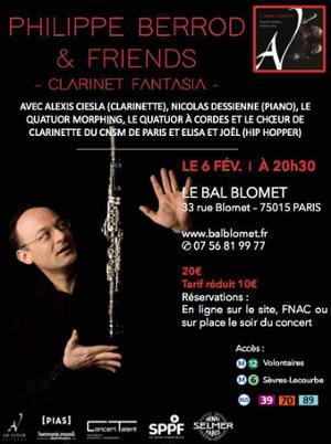 Philippe Berrod & friends – Clarinet Fantasia.