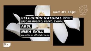 Concrete pres. Selección Natural : Oscar Mulero, Reeko, Exium