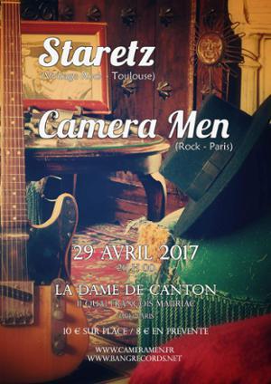 STARETZ + CAMERA MEN