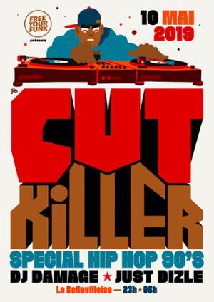 FREE YOUR FUNK : CUT KILLER SPECIAL HIP HOP & RNB 90s