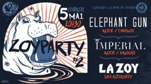 ZOY PARTY // LA ZOY + ELEPHANT GUN + IMPERIAL