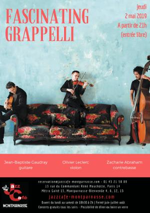Fascinating Grappelli au Jazz Café Montparnasse