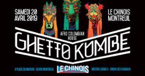Ghetto Kumbé Paris Live- djs Curuba - Julio inti