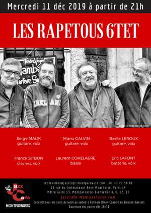 Les Rapetous Sextet au Jazz Café Montparnasse