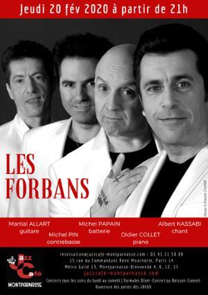 Les Forbans au Jazz Café Montparnasse