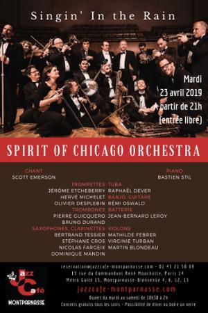 Spirit of Chicago Orchestra, Singin' in the Rain au Jazz Café