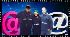 Johnkôôl Sound System #9 : Dj HRP, Dj Kôôl, Colin Johnco +guests
