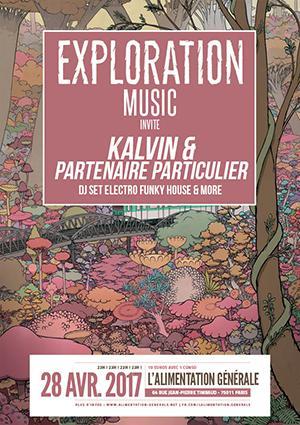 EXPLORATION invite  KALVIN ET PARTENAIRE PARTICULIER