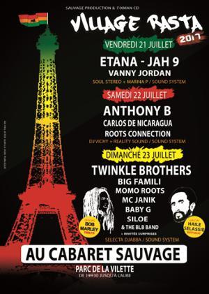 ETANA, JAH9, MARINA P @ VILLAGE RASTA - Cabaret Sauvage