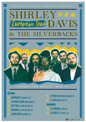 Shirley Davis & The Silverbacks en tournée en France !
