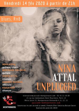 Saint Valentin avec Nina Attal au Jazz Café Montparnasse