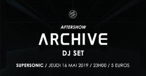 Archive DJ SET / Supersonic - Paris