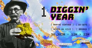 DIMANCHE PARESSEUX - OL'DIGGER : 1 DIGGIN' YEAR | PETIT BAIN