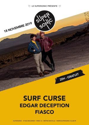 Surf Curse • edgar déception • Fiasco / Supersonic (Free)