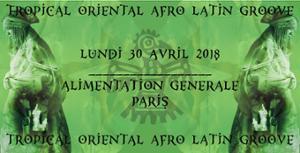 Tropical Oriental Afro Latin Groove - Rafael Aragon & LadySixSky