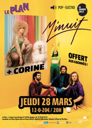 MINUIT + CORINE