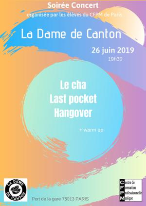 LE CHA + LAST POCKET + HANGOVER