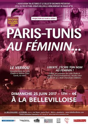 BELLEVILLE-MENILMONTANT EN IMAGES : PARIS-TUNIS AU FEMININ...
