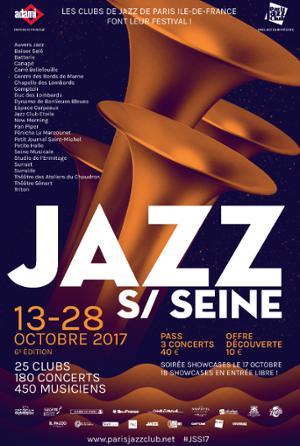SOIRÉE SHOWCASES JAZZ SUR SEINE 2017