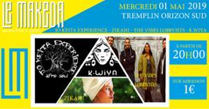 Tremplin Scène Découverte : Phase 1 : Jo Keita Experience, Zikahi, The Vibes Lobbyists, K.Wiya